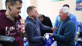 Динамо передало допомогу пораненим в АТО