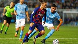 """Важка перемога """"блаугранас"""" у відеоогляді матчу Ібіца – Барселона – 1:2"""