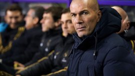 Зідан заявив, що зовсім не зважає на лідерство Реала в Ла Лізі