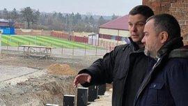Колос в следующем сезоне будет выступать на новом стадионе – УАФ проинспектировала арену, которую строят в Ковалевке