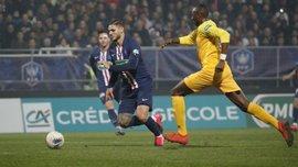 Кубок Франції: Лілль сенсаційно вилетів від скромного Епіналя, ПСЖ на класі розібрався з По
