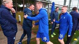 Шевченко особисто приїхав у тренувальний табір Динамо, щоб подивитися на гравців збірної України