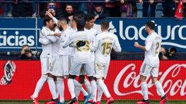 Осасуна – Реал – 1:4 – відео голів та огляд матчу