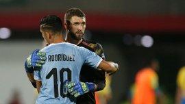 Голкипер сборной Уругвая отличился бессмысленным автоголом