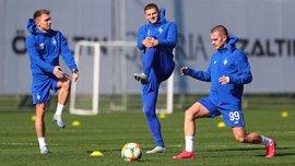 Шабанов повернувся в загальну групу Динамо