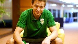 Новачок Карпат Каніболоцький поділився очікуваннями від нового етапу в кар'єрі