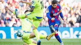 Барселона – Хетафе – 2:1 – видео голов и обзор матча