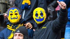 Фанаты Вероны пришли на игру против Удинезе в маскарадных костюмах – колоритные фото