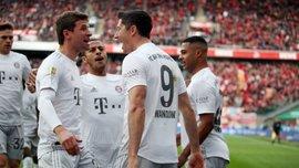 Впечатляющее достижение Левандовски в видеообзоре матча Кельн – Бавария – 1:4