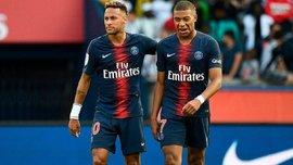 Борусія Д – ПСЖ: визначилася доля Неймара та Мбаппе, які пропустили попередній матч парижан