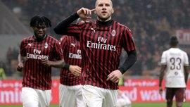 Минимальная победа Милана в видеообзоре матча против Торино