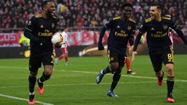 Олимпиакос – Арсенал – 0:1 – видео гола и обзор матча