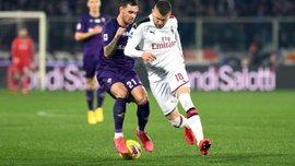 Фиорентина – Милан – 1:1 – видео голов и обзор матча