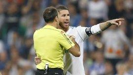 Леванте – Реал: Рамос разозлился из-за действий арбитра