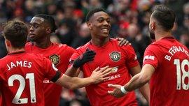 Дебютний гол Фернандеша у відеоогляді матчу Манчестер Юнайтед – Уотфорд – 3:0