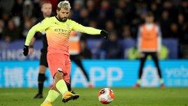 Агуеро розгніваний реалізацією пенальті гравцями Манчестер Сіті