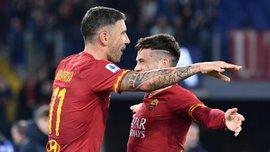 Розгром команди Шахова у відеоогляді матчу Рома – Лечче – 4:0