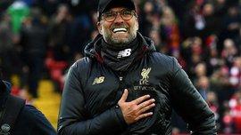 Клопп: Думал, что рекорд Манчестер Сити никому не покорится, но Ливерпуль сделал это