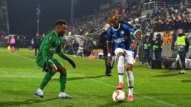 Интер – Лудогорец: гости прибыли на матч Лиги Европы в защитных масках и перчатках