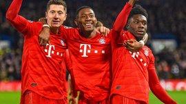 Триумф Баварии в команде неделе в Лиге чемпионов