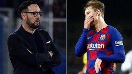 Тренер Хетафе Бордалас использовал критику де Йонга для мотивации подопечных на матч Лиги Европы