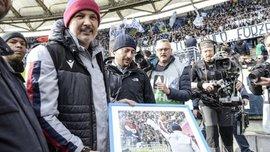 Фанати Лаціо підтримали Сінішу Міхайловіча у боротьбі з раком – вчинок дня