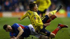 Торрейра зазнав пошкодження у матчі Кубка Англії – гравець Арсенала покидав поле на ношах