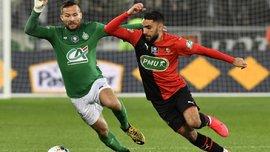 Сент-Этьен вырвал победу в матче с Ренном и стал вторым финалистом Кубка Франции