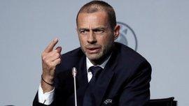 Президент УЕФА Чеферин призвал Англию отказаться от Кубка лиги