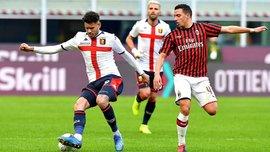 Неожиданный провал Ибрагимовича и компании в видеообзоре матча Милан – Дженоа – 1:2