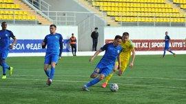 Українець Бондаренко відзначився дебютним голом у чемпіонаті Казахстану – він виступає на позиції захисника