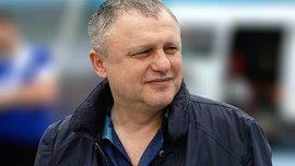 Суркіс взяв участь у челенджі з туалетним папером – президент Динамо передав естафету Михайличенку