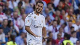 Наставник топ-сборной назвал причину провала Азара в Реале