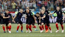 Вида вместе со звездами сборной Хорватии насладился триумфом над Россией – сын экс-динамовца в восторге