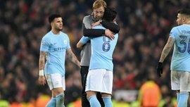 """""""Немає проблем, якщо Ліверпуль визнають чемпіоном"""": гравець Манчестер Сіті віддав належне команді Клоппа"""