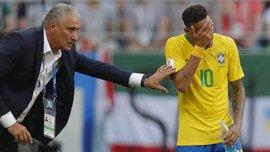 Неймар не является незаменимым игроком сборной Бразилии, – Тите