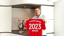 """""""Гра за Баварію – не просто робота, а пристрасть"""": Мюллєр емоційно прокоментував нову угоду з рідним клубом"""