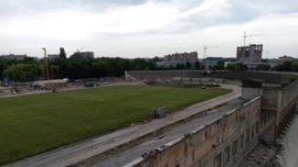 Верес відзвітував про процес реконструкції стадіону – опубліковане відео