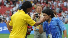 Марадона назвав головну помилку Роналдінью