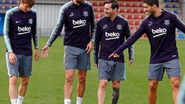 Барселона может отдать Миранду в Серию А