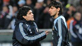 Агуэро не включил Марадону в сборную аргентинцев – Диего является бывшим тестем форварда Манчестер Сити