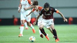 Техничный гол пяткой поразил комментатора чемпионата Южной Кореи