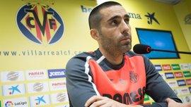 Капитан Вильярреала Сориано вернулся к тренировкам – он не играл 3 года из-за травм