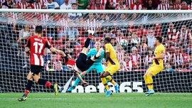 Фантастическая бисиклета в ворота Барселоны – Адурис гениально попрощался с футболом