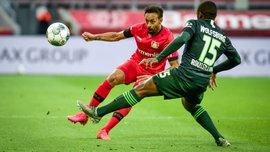 Несподівана ганьба Байєра у відеоогляді матчу проти Вольфсбурга