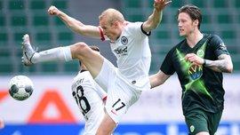 Неожиданная неудача Вольфсбурга в видеообзоре матча против Айнтрахта