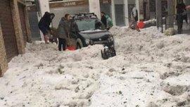 """""""Що не так з погодою цього року"""": дружина Маліновського поділилась шокуючими фото наслідків негоди в Бергамо"""