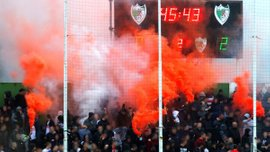 Фанаты Црвены Звезды громко отметили возвращение футбола на трибуны – яркие кадры