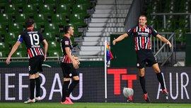 Вердер – Айнтрахт – 0:3 – видео голов и обзор матча
