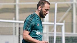 Ігуаїн травмувався на тренуванні Ювентуса – участь у матчі з Міланом під питанням
